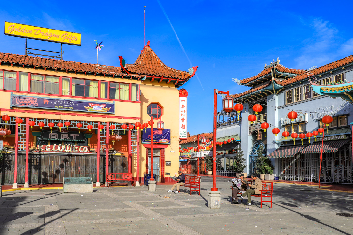 Chinatown Los Angeles