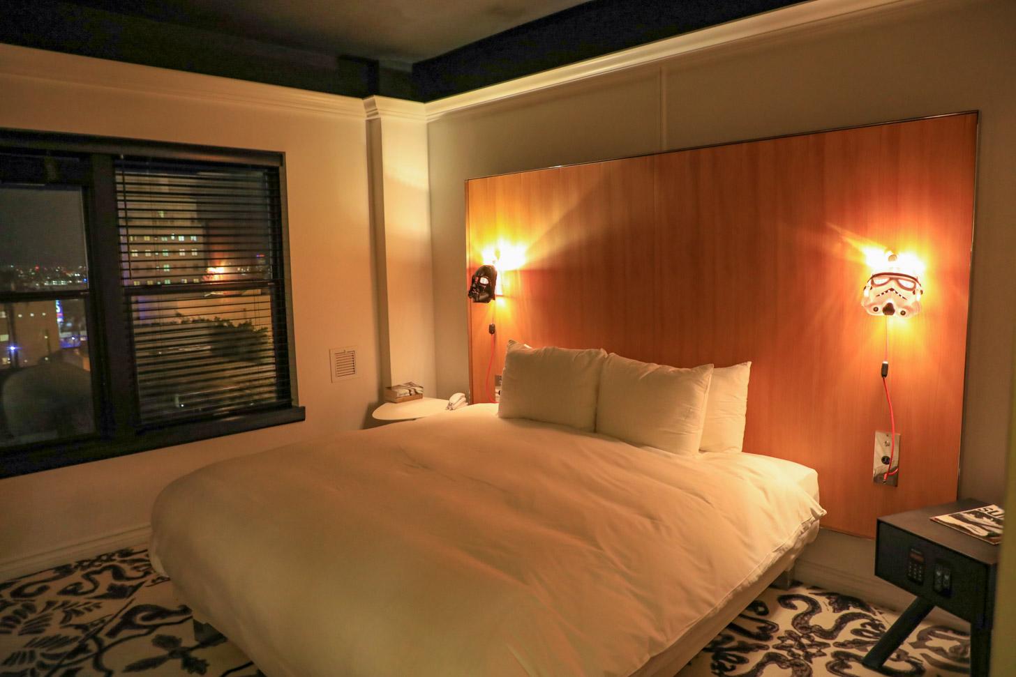overnachten in Los Angeles: een heerlijke hotelkamer in Mama Shelter