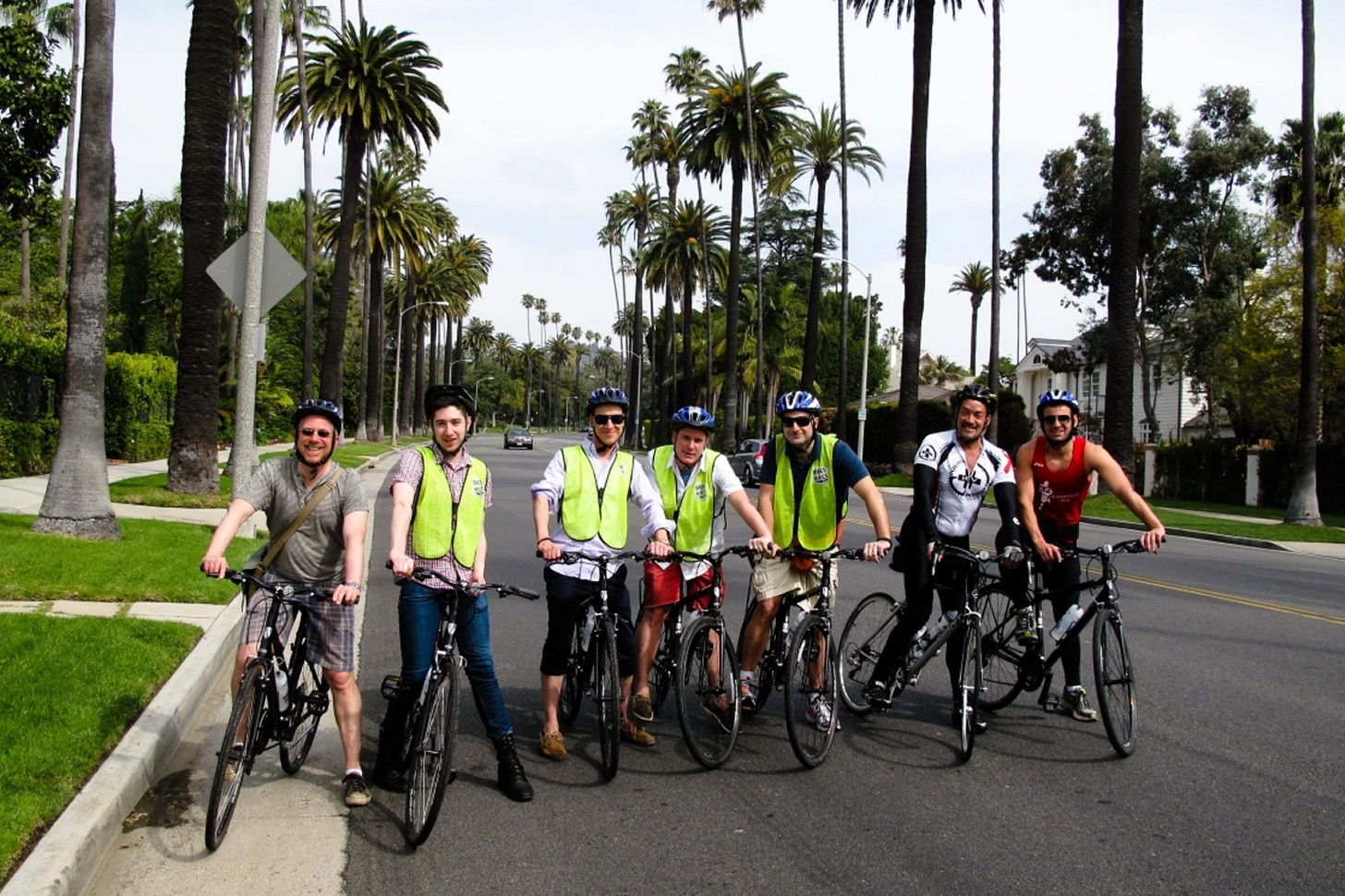Fietstocht in Los Angeles