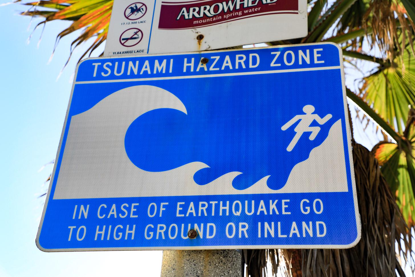 Aardbevingen en tsunami's