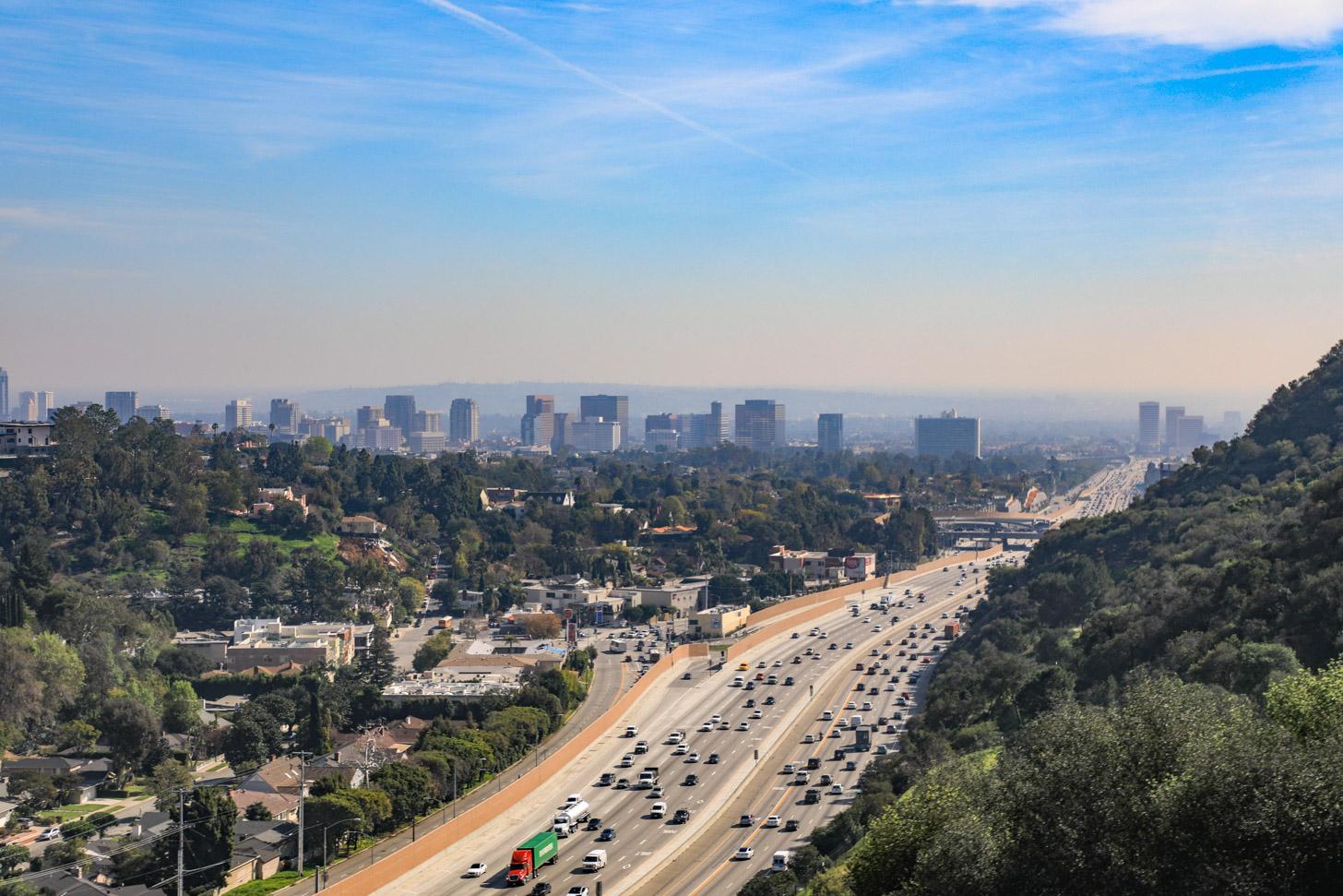 Hedendaagse problemen in Los Angeles: het verkeer