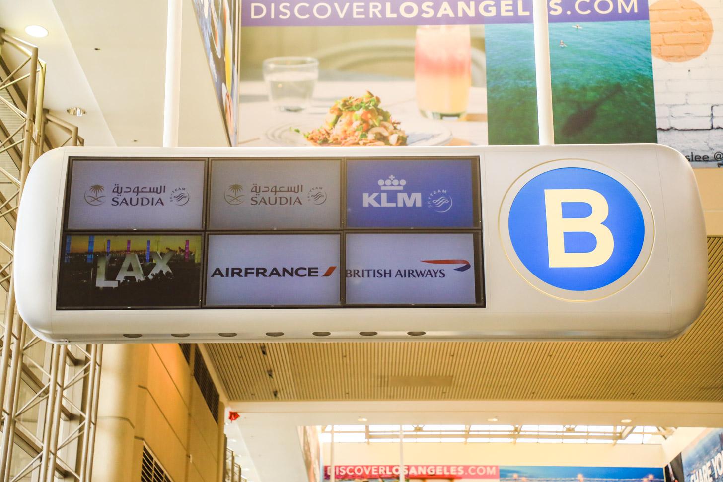 Met andere maatschappijen naar Los Angeles vliegen